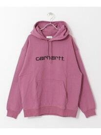 Sonny Label carharttWHOODEDCARHARTTSWEAT サニーレーベル カットソー パーカー ピンク ブラック【送料無料】