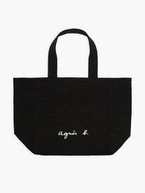 agnes b. VOYAGE VOYAGE/(W)【WEB限定】GO03-01 トートバッグ アニエスベー バッグ トートバッグ ブラック ホワイト【送料無料】