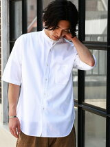 [ジェニュインガーメント] SC G/G KARAMI ビッグ/BAND 半袖シャツ