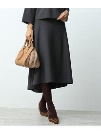 【SALE/60%OFF】ROPE' 【セットアップ対応】ミラノリブフレアスカート ロペ スカート スカートその他 ブラック ブラウン【送料無料】