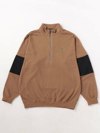 【SALE/60%OFF】BEAUTY & YOUTH UNITED ARROWS <LACOSTE>×<BEAUTY&YOUTH> by <VAINL ARCHIVE> P/OV LS/カットソー □□ ◆ ユナイテッドアローズ アウトレット カットソー Tシャツ ベージュ ホワイト ブラック【送料無料】
