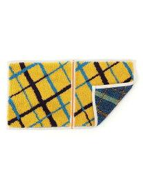 SHIPS KIDS otta:二つ折り ハンドタオル(クロス) シップス ファッショングッズ ハンカチ/タオル イエロー ブルー