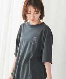 【SALE/55%OFF】coen USAコットンベアイラストTシャツ# コーエン カットソー Tシャツ グリーン ホワイト ブラック ベージュ ネイビー
