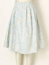 ラインflowerフレアースカート