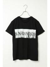 (L)サンフランシスコフリンジロゴTシャツ