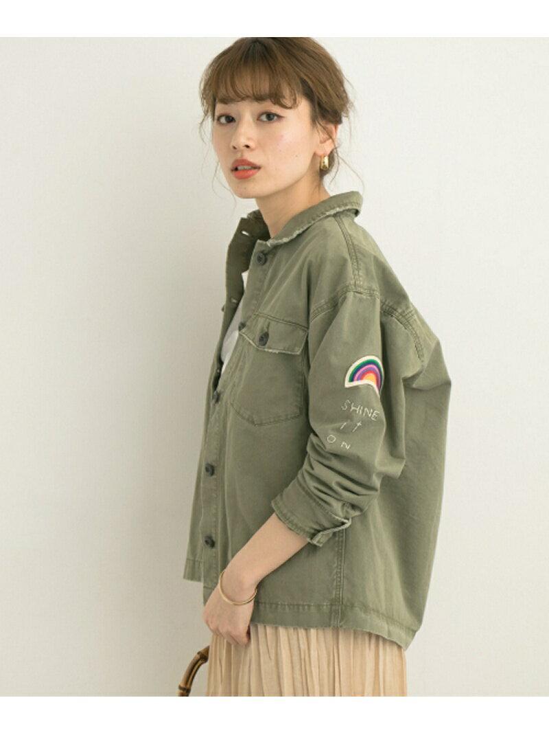 Sonny Label ピーチツイルミリタリーシャツジャケット サニーレーベル コート/ジャケット【送料無料】