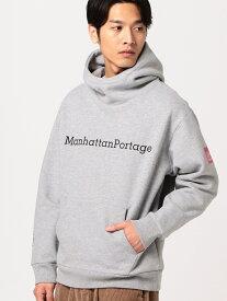 B:MING by BEAMS Manhattan Portage / テリー パーカ BEAMS ビームス ビーミング ライフストア バイ ビームス カットソー パーカー グレー ホワイト【送料無料】