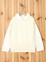 襟付Tシャツ×ベストセット/キッズ/夏