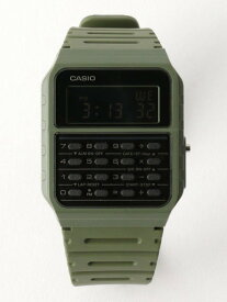 UNITED ARROWS green label relaxing [カシオ]SC★CASIOCA-53WF腕時計 ユナイテッドアローズ グリーンレーベルリラクシング ファッショングッズ 腕時計 カーキ ホワイト ブラック