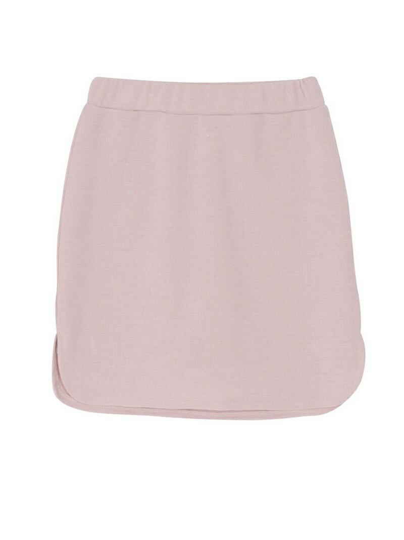 【SALE/60%OFF】EMODA H/W mini スカート ハイウェスト ミニスカート エモダ スカート【RBA_S】【RBA_E】