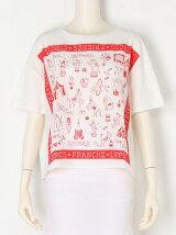 オリプリスカーフTシャツ