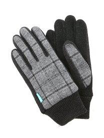 【SALE/50%OFF】NAUGHTIAM NAUGHTIAM/導電ジャージチェック 92GY ノーティアム ファッショングッズ 手袋 グレー