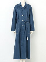 cotton twilltailored collar coat