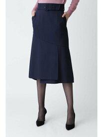 【SALE/46%OFF】PINKY&DIANNE フレアヘムミディスカート ピンキー アンド ダイアン スカート スカートその他 ネイビー ピンク カーキ【送料無料】
