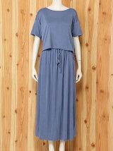 モダールTシャツ&ドレス/ワンピース/ルームウエア/パジャマ