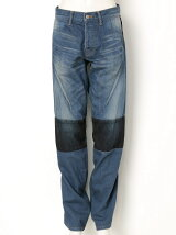 PANEL DENIM PANTS
