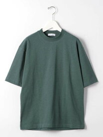 【SALE/50%OFF】UNITED ARROWS green label relaxing SCヘビーウェイトネップクルーネック半袖Tシャツカットソー ユナイテッドアローズ グリーンレーベルリラクシング カットソー Tシャツ ブラック ホワイト グリーン