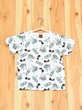 L.COPECK/(K)エルコベック トロピカル総柄Tシャツ