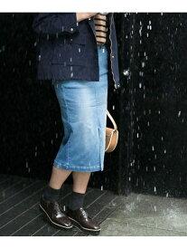 【SALE/40%OFF】多機能超撥水デニムスカート ナノユニバース スカート【RBA_S】【RBA_E】