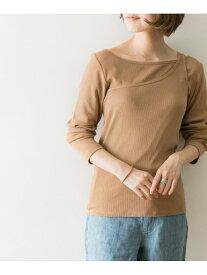 【SALE/60%OFF】URBAN RESEARCH レイヤードアシメカットソー アーバンリサーチ カットソー Tシャツ ブラウン ホワイト グリーン