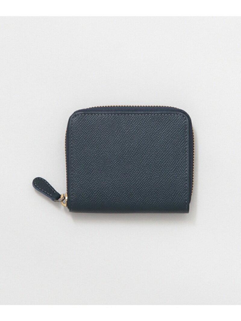 URBAN RESEARCH 型押し2つ折りZIPウォレット アーバンリサーチ 財布/小物【送料無料】