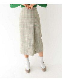 【SALE/61%OFF】aquagirl スプリングチェックタイトスカート アクアガール スカート【RBA_S】【RBA_E】【送料無料】