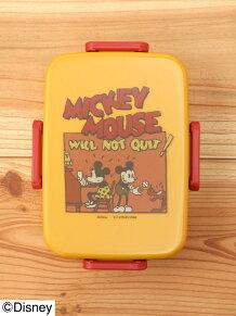 Disney@212K/Disney(ディズニー)*Mickey 1930s ランチボックス*イエロー