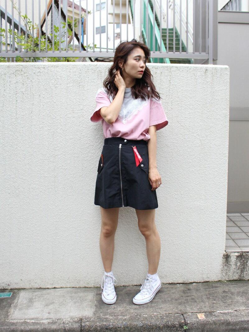 【SALE/50%OFF】jouetie MA-1スカート ジュエティ スカート【RBA_S】【RBA_E】