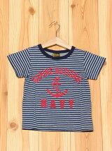 L.COPECK/(K)エルコベック ピンボーダーアンカーTシャツ