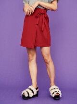 リボン台形スカート