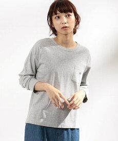 COMME CA ISM 【ジェンダーレスデザイン】ベーシック長袖クルーTシャツ(ONIGIRI) コムサイズム カットソー Tシャツ グレー ホワイト ベージュ【送料無料】