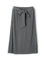 EN81 リボン付きカットプリーツスカート
