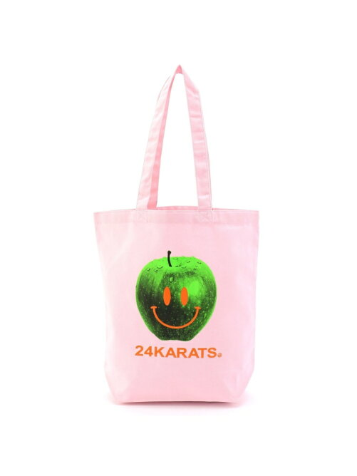 24karats/(U)Apple Logo Tote Bag