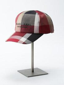 BLACK LABEL CRESTBRIDGE クレストブリッジチェック キャップ ブルーレーベル / ブラックレーベル・クレストブリッジ 帽子/ヘア小物 帽子その他 ブラウン【送料無料】
