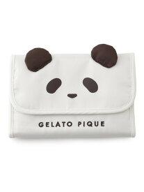 gelato pique パンダ母子手帳ケースS ジェラートピケ マタニティー/ベビー 母子手帳ケース ホワイト