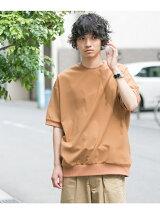 メランジリブTシャツ