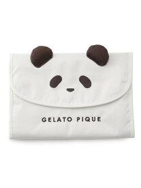gelato pique パンダ母子手帳ケースM ジェラートピケ マタニティー/ベビー 母子手帳ケース ホワイト