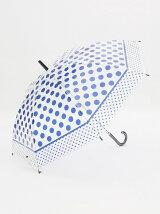 ドット柄ビニル傘