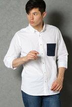 7Sカモフラポケットシャツ