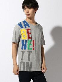 【SALE/79%OFF】BENETTON (UNITED COLORS OF BENETTON) (M)ビッグロゴ半袖Tシャツ・カットソーJCC ベネトン(ユナイテッド カラーズ オブ ベネトン) カットソー Tシャツ グレー ネイビー ホワイト