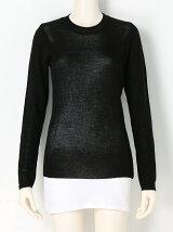 Crewneck Sheer Knit
