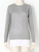 Crewneck Sheer Knit