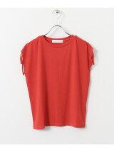 ドローストリングTシャツ(ノースリーブ)