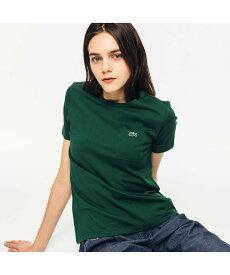 【SALE/30%OFF】LACOSTE ベーシッククルーネックポケットTシャツ ラコステ カットソー Tシャツ グリーン ネイビー【送料無料】
