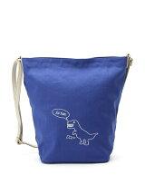 恐竜刺繍ショルダーバッグ