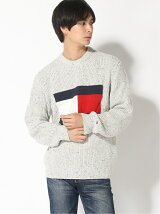 TOMMY JEANS/(M)TOMMY HILFIGER(トミーヒルフィガー) フラッグニットセーター