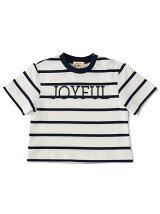 【BABY】ボーダー ジョイフル ビッグ Tシャツ