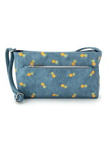 フルーツ刺繍ミニショルダーバッグ