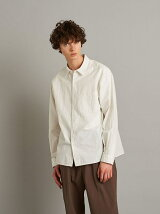 <Steven Alan> MELANGE TYPEWRITER REGULAR COLLAR SHIRT-BOLD/シャツ