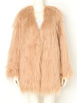 LONG FUR Long Coat